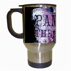 Panic At The Disco Art Travel Mugs (white)