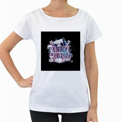 Panic At The Disco Art Women s Loose Fit T Shirt (white)