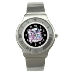 Panic At The Disco Art Stainless Steel Watch