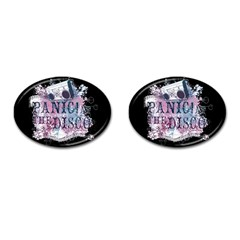 Panic At The Disco Art Cufflinks (oval)