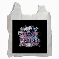 Panic At The Disco Art Recycle Bag (two Side)
