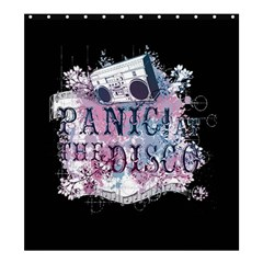 Panic At The Disco Art Shower Curtain 66  X 72  (large)
