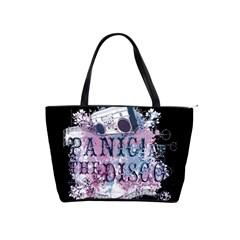 Panic At The Disco Art Shoulder Handbags