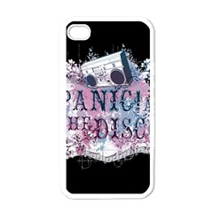 Panic At The Disco Art Apple Iphone 4 Case (white)