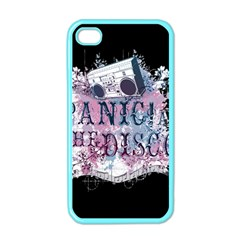 Panic At The Disco Art Apple Iphone 4 Case (color)
