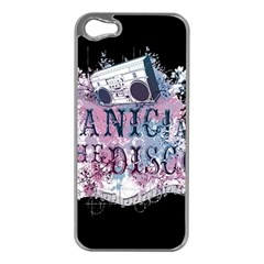 Panic At The Disco Art Apple Iphone 5 Case (silver)