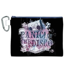 Panic At The Disco Art Canvas Cosmetic Bag (xl)