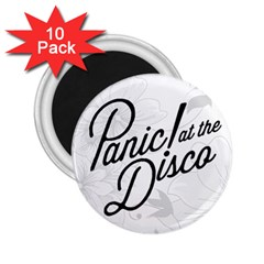 Panic At The Disco Flowers 2 25  Magnets (10 Pack)