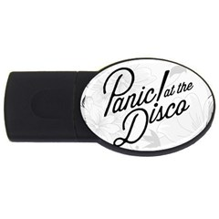 Panic At The Disco Flowers Usb Flash Drive Oval (2 Gb)