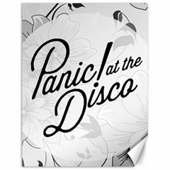 Panic At The Disco Flowers Canvas 12  X 16