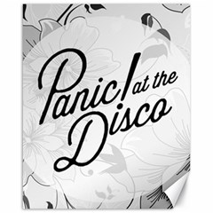 Panic At The Disco Flowers Canvas 16  X 20