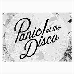 Panic At The Disco Flowers Large Glasses Cloth