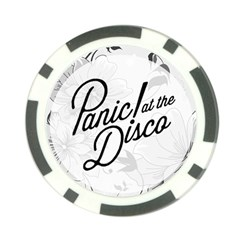 Panic At The Disco Flowers Poker Chip Card Guard