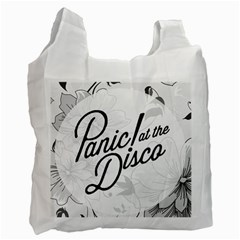 Panic At The Disco Flowers Recycle Bag (one Side)