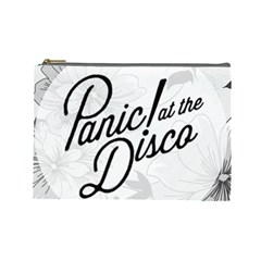 Panic At The Disco Flowers Cosmetic Bag (large)