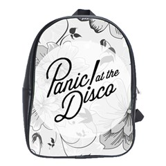 Panic At The Disco Flowers School Bag (large)