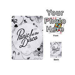 Panic At The Disco Flowers Playing Cards 54 (mini)