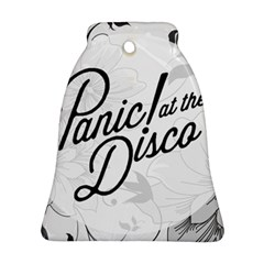 Panic At The Disco Flowers Bell Ornament (two Sides)