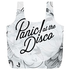 Panic At The Disco Flowers Full Print Recycle Bags (l)