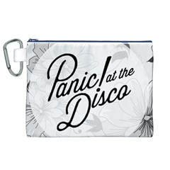 Panic At The Disco Flowers Canvas Cosmetic Bag (xl)