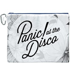 Panic At The Disco Flowers Canvas Cosmetic Bag (xxxl)