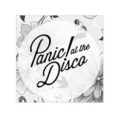 Panic At The Disco Flowers Small Satin Scarf (square)