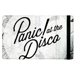 Panic At The Disco Flowers Apple Ipad Pro 9 7   Flip Case