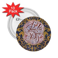 Panic! At The Disco 2 25  Buttons (10 Pack)