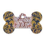 Panic! At The Disco Dog Tag Bone (Two Sides) Front
