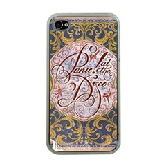 Panic! At The Disco Apple Iphone 4 Case (clear)