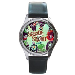 Panic! At The Disco Suicide Squad The Album Round Metal Watch