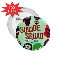 Panic! At The Disco Suicide Squad The Album 2 25  Buttons (100 Pack)