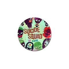Panic! At The Disco Suicide Squad The Album Golf Ball Marker