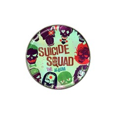 Panic! At The Disco Suicide Squad The Album Hat Clip Ball Marker (4 Pack)
