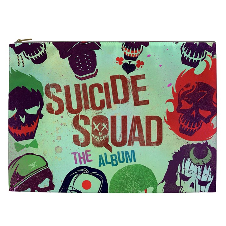 Panic! At The Disco Suicide Squad The Album Cosmetic Bag (XXL)