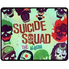 Panic! At The Disco Suicide Squad The Album Double Sided Fleece Blanket (medium)