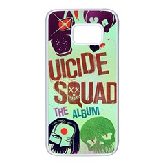 Panic! At The Disco Suicide Squad The Album Samsung Galaxy S7 White Seamless Case
