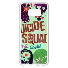 Panic! At The Disco Suicide Squad The Album Samsung Galaxy S8 Plus White Seamless Case