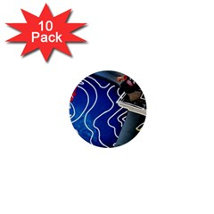 Panic! At The Disco Released Death Of A Bachelor 1  Mini Buttons (10 Pack)