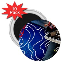 Panic! At The Disco Released Death Of A Bachelor 2 25  Magnets (10 Pack)