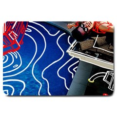 Panic! At The Disco Released Death Of A Bachelor Large Doormat
