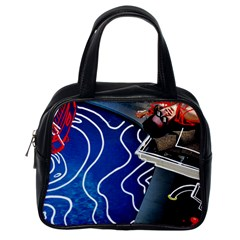 Panic! At The Disco Released Death Of A Bachelor Classic Handbags (one Side)