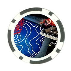 Panic! At The Disco Released Death Of A Bachelor Poker Chip Card Guard (10 Pack)