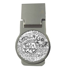 Panic! At The Disco Lyric Quotes Money Clips (round)