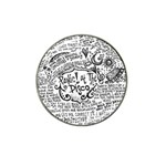 Panic! At The Disco Lyric Quotes Hat Clip Ball Marker Front