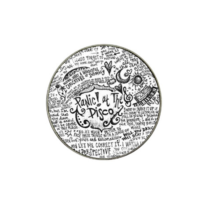 Panic! At The Disco Lyric Quotes Hat Clip Ball Marker