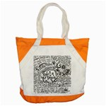 Panic! At The Disco Lyric Quotes Accent Tote Bag Front