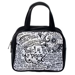 Panic! At The Disco Lyric Quotes Classic Handbags (one Side)