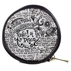 Panic! At The Disco Lyric Quotes Mini Makeup Bags