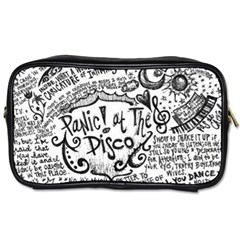 Panic! At The Disco Lyric Quotes Toiletries Bags 2 Side